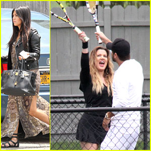Khloe Kardashian & Scott Disick Continue to Bond in the Hamptons Without Pregnant Kourtney
