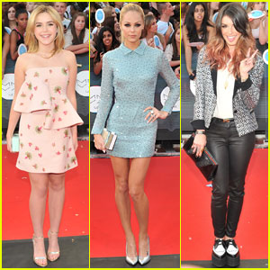 Kiernan Shipka & Laura Vandervoort Both Opt for Short Dresses at the MuchMusic Video Awards 2014!