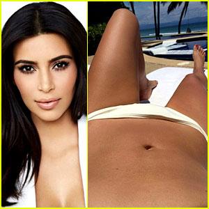 Kim Kardashian Bares Her Bikini Body in New Honeymoon Pics!
