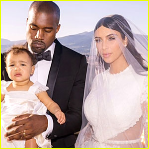 Kim Kardashian Says Kanye West & North Are 'My Everything' in New Wedding Pic!