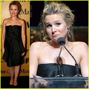 Kristen Bell Celebrates 'Frozen' Writer/Director Jennifer Lee at Crystal + Lucy Awards!