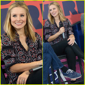 Kristen Bell Steps Out for CMT Awards Press Conference: 'It's Not the Hardest Job in America'