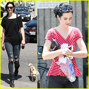 Krysten Ritter Definitely Has a Lovely Buddy in Her Life!