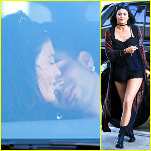 Kylie Jenner Gets Up Close & Personal with Miles Richie!