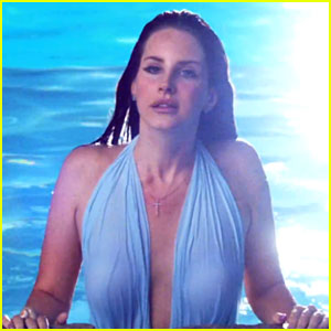 Lana Del Rey Takes a Dip in the Pool for 'Shades of Cool' Video!