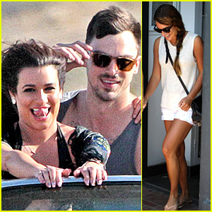 Lea Michele Steps Out After New Boyfriend Matthew Paetz's Gigolo Past Gets Revealed