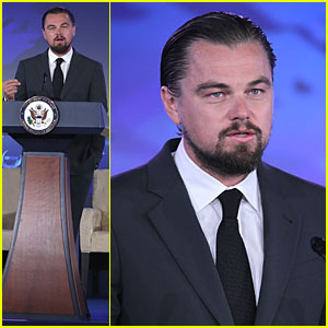 Leonardo DiCaprio Shows His Generosity By Donating $7 Million at Our Ocean Conference!