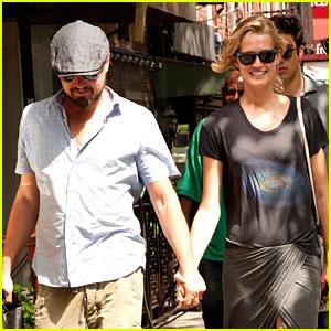 Leonardo DiCaprio & Toni Garrn Are Still Going Strong, Hold Hands in New York!
