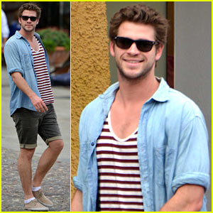 Liam Hemsworth Gets Some Much Deserved R&R on Vacation After Wrapping 'Hunger Games'