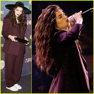 Lorde Performs 'Tennis Court' at MuchMusic Video Awards 2014 - Watch Now!