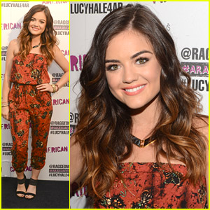 Lucy Hale Performs At American Rag's All Access Event While Celebrating Her 25th Birthday