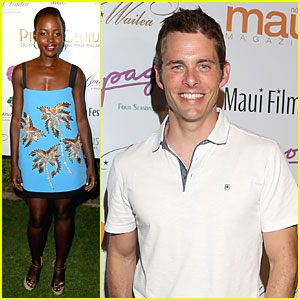 Lupita Nyong'o is a Blue Rainmaker at Maui Film Festival 2014