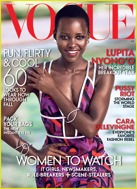 Lupita Nyong'o Becomes 2nd Black African Woman to Cover 'Vogue'!