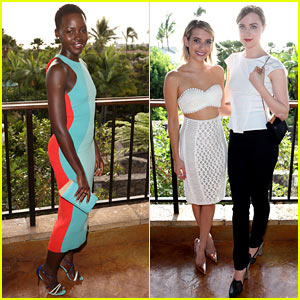 Lupita Nyong'o & Evan Rachel Wood Kick Off the Maui Film Festival 2014!