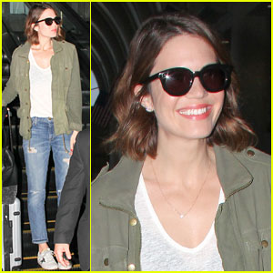 Mandy Moore Celebrates Her 'Genius Friends'!
