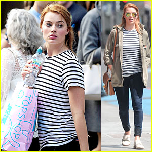 Margot Robbie Adds More Topshop Clothes to Her Always Growing Wardrobe!