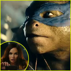Megan Fox Catches the Turtles in Action in 'Teenage Mutant Ninja Turtles' Trailer - Watch Now!