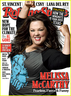 Melissa McCarthy Looks So Fierce & Funny on 'Rolling Stone' Cover!