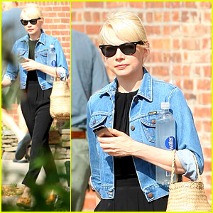 Michelle Williams Heads to Work Before Shia LaBeouf Gets Arrested at Her Show