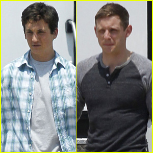 Miles Teller Shares a 'Fantastic Four' Selfie While Filming Alongside Jamie Bell in Baton Rouge