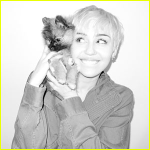 Miley Cyrus Poses for Most Tame Photo Shoot in a Long Time!