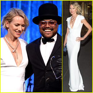 Naomi Watts Presents Spirit Award to Apl.de.ap at Happy Hearts Fund Gala 2014!