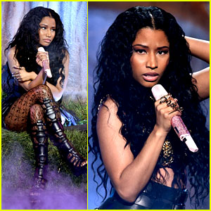 Nicki Minaj Performs 'Pills N Potions' at BET Awards 2014! (Video)