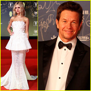 Nicola Peltz & Mark Wahlberg Bring 'Transformers: Age Of Extinction' to Shanghai with Jack Reynor