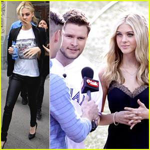 Nicola Peltz & Jack Reynor Take 'Transformers' in Toronto