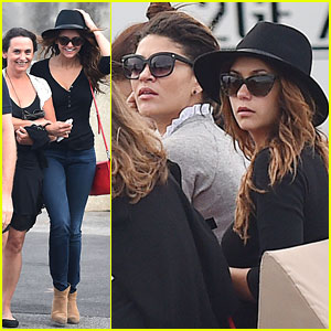 Nina Dobrev Enjoys Fun Boat Ride in Saint-Tropez with Her Mom, Jessica Szohr, & Emma Miller!