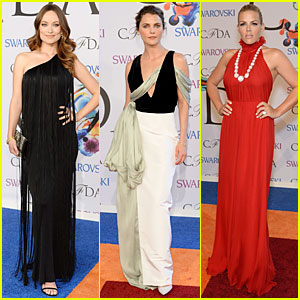 Olivia Wilde & Keri Russell Add Shades of Black to CFDA Awards 2014