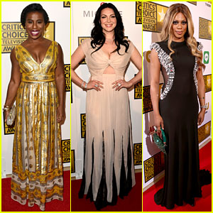 Orange Is the New Black's Uzo Aduba WINS at Critics' Choice TV Awards 2014!