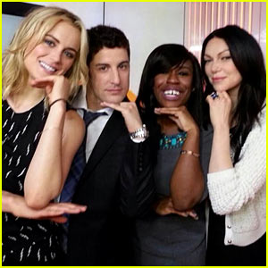 'Orange is the New Black' Cast Take Cute Selfies on 'Today' Show