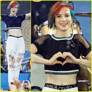 Paramore Doesn't Let the Rain Get Them Down for Amazing 'GMA' Performances - Watch Now!