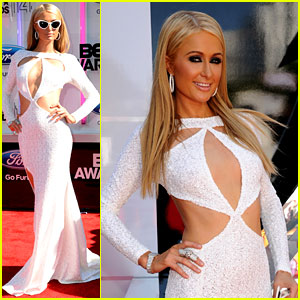 Paris Hilton Gets Her 'Kardashian On' at BET Awards 2014
