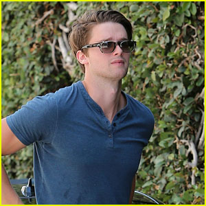 Patrick Schwarzenegger Looks Buff for a Day Out in LA!