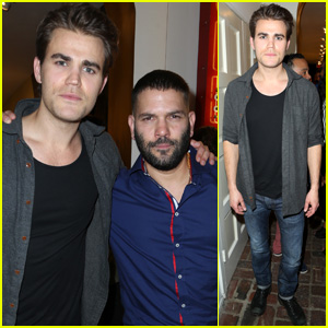 Paul Wesley & Scandal's Guillermo Diaz Buddy Up for Immigrant Heritage Month Gala