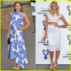 Margot Robbie & Pixie Lott Get All Dressed Up for the Charity Ball!