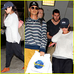 Pregnant Rachel Bilson & Hayden Christensen Finally Return from Barbados Babymoon!