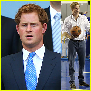 Prince Harry Gets Into The FIFA World Cup Spirit in Brazil!