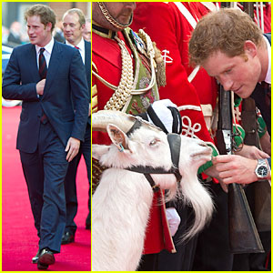 Prince Harry's Cute Interaction with a Goat Will Melt Your Heart - See the Pics!