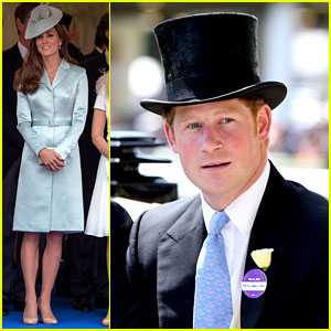 Prince Harry Looks Top Notch in His Top Hat for Royal Ascot!