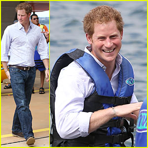 Prince Harry's Smile Brigthens The Day at a Brazilian Hospital!
