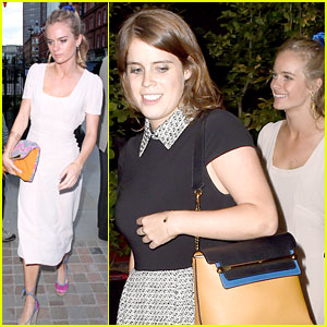 Princess Eugenie Hangs Out with Her Cousin Prince Harry's Ex-Girlfriend Cressida Bonas