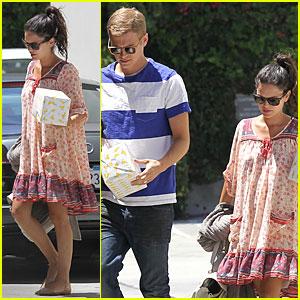 Pregnant Rachel Bilson & Hayden Christensen Make a Cute Birthday Party Pair!