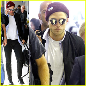 Robert Pattinson Flys Out of Sydney After 'Rover' Premiere!