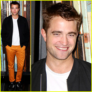 Robert Pattinson Supports His Movie 'The Rover' in Sydney!