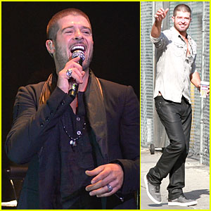 Robin Thicke Wears His Heart On His Sleeve at 'Paula' Album Celebration!
