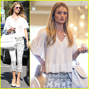 Rosie Huntington-Whiteley Shops For Decades After Rock N' Roll Weekend!