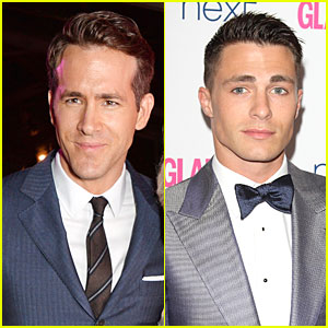 Ryan Reynolds Honors Helen Mirren at Glamour Women of the Year Awards 2014